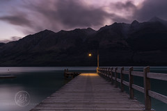Magical Glenorchy - NZ (Lisa Hawkins Photography) Tags: new lake mountains water clouds canon island photography moody jetty south lisa zealand wakatipu hawkins 6d glenorchy