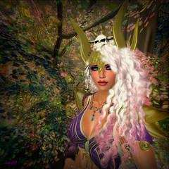 Scarlett - Warrior Queen (scarlettelizabet) Tags: ad queen fantasy blonde warrior analogdog