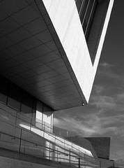 MOL angles (stephenbryan825) Tags: reflection glass liverpool buildings graphic vivid pierhead selects mannisland museumofliverpool