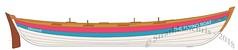 The Flying Boat (Strathkanchris) Tags: scotland rowboat rowingclub plywood wormit colourscheme iainoughtred kitbuilt wormitboatingclub communitybuild staylesskiff scottishcoastalrowing plywoodkit