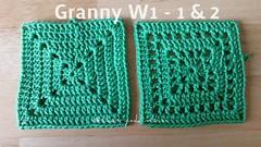 #Crochet Grannys #crochetblanket (CherryM.) Tags: crochet crochetblanket