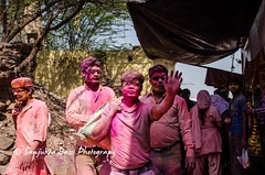 Barsana Nandgaon Lathmar Holi Low res (5 of 136) (Sanjukta Basu) Tags: holi festivalofcolour india lathmarholi barsana nandgaon radhakrishna colours