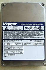 "Maxtor 540MB IDE 3.5"" Hard Drive [20160517_105129] (Amateur Radio Station G4FUI) Tags: storage electronics harddrive maxtor 1995 computerperipheral"