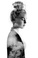 (MarcoBekk) Tags: art nature girl monochrome collage blackwhite beck fine human marco conceptual bekk