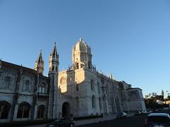 The Jernimos Monastery, Belem, Lisbon, June 2016 (leonyaakov) Tags: belem lisbon portugal travel monuments monastery capitalcity cathedral catholic citytour tower religion history memorial inspiredbylove nikonflickraward