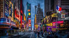 A Head Full of Dreams (Gordon McCallum) Tags: nyc newyork sony streetscene timessquare sigmaartlens sonya6000 newyearpreparations