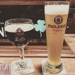 #paulaner #beer #biere #cerveza #leffebrune #relax #summer #logroo @mdomale (urbanplan_RGB) Tags: square squareformat reyes iphoneography instagramapp uploaded:by=instagram