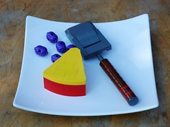 Cheese and grapes (1) (adde51) Tags: food cheese dessert funny lego grapes grater moc foitsop adde51