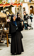 Holy photographer (Bubba's Bag of Photos) Tags: people italy italia streetphotography carousel it nun assisi umbria