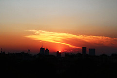Well Hello Summer, Long Time No See (Lisa Campo) Tags: italien sunset summer italy milan skyline clouds italia view milano sunray cityview citylight greatview hotweather whatitalyis
