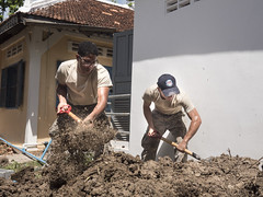 Pacific Angel Engineers Build Partnerships in Cambodia (#PACOM) Tags: army cambodia kh airforce humanitarian usairforce engineers usarmy cambodianarmedforces pacaf pacom pacificcommand kampotprovince pacificairforce pacangel16 pacificangel16