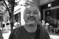 Kobe Kobe Festival 147 (momoto0) Tags: street portrait bw canon eos blackwhite 28mm 5d usm monochrom f18 markii ef28mmf18 eos5dmarkii