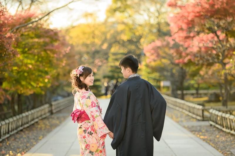 京都婚紗和服,日本婚紗,京都婚紗,京都楓葉婚紗,海外婚紗,和服拍攝,和服體驗,楓葉婚紗,DSC_0095