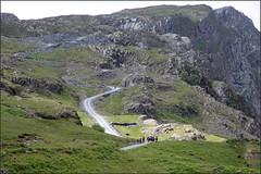 Honister Pass Cumbria 180616 (1) (Liz Callan) Tags: road sky green landscape lakedistrict cumbria slate climbs honisterpass photoborder honisterslatemine lizcallan lizcallanphotography skyhighcafe photographborder photographicborder