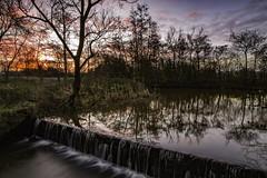 Dawn over Orrell Water Park, Wigan, Lancashire UK (ianandbarbara.bonnell@btinternet.com) Tags: uk england sky water sunrise reflections dawn lakes lancashire wigan merseyside greatermanchester billinge northwestengland orrell orrellwaterpark