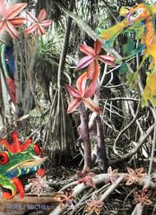 LIMNE DESSE DES MARAIS (KOHLI MICHEL) Tags: art collage arte marais diosa desse cinaga artkohli