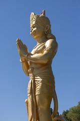 DUE_4432r (crobart) Tags: dedication statue ji golden vishnu hill ceremony richmond celebration idol hanuman unveiling hindu hinduism mandir bapu pujya morari