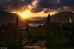 Gateway To Sundown (Paul Sivyer) Tags: snowdonia paulsivyer wildwalescom