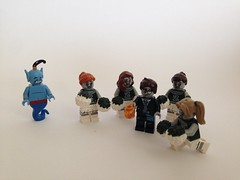 And for my next wish!! (nz-brickfan) Tags: cheerleaders lego disney minifigs wish zombies legominifigs