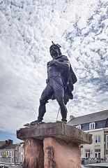 Ambiorix (enneafive) Tags: ambiorix tongeren statue eburones cativolcus caesar galliabelgica olympus omd em5 hdr 150yearsofambiorixstatue clouds sky princeofeburones 1866
