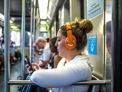 P1370112 (electrachrome) Tags: headphones commuting mbta