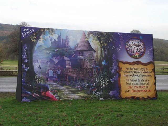 10/11/14 - Advert for the new enchanted village.