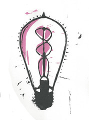 "lightbulb double helix pink • <a style=""font-size:0.8em;"" href=""https://www.flickr.com/photos/87478652@N08/15187555624/"" target=""_blank"">View on Flickr</a>"