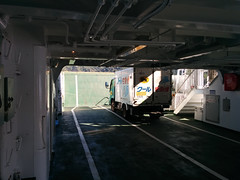 Carrying Oysters, Miyajima ferry (x768) Tags: boat miyajima