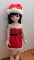 Christmas dress (StarOblivion) Tags: christmas love ball doll dolls dress sale bjd jointed youyou dolllove yosd