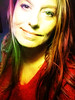 Having way too much fun with this rainbow filter on new phone :)) (s1m0nes) Tags: selfportrait colors smiling rainbow eyes longhair z3 android selfie sooc colorfulhair xperia sonyz3