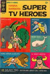 Hanna Barbera Super TV Heroes No.1 (Gold Key 1968) (Donald Deveau) Tags: cartoon comicbook tvshow herculoids mobydick birdman hannabarbera 1960stv mightymightor