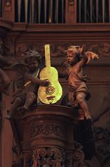 Saint Omer, Nord-Pas-de-Calais, Cathédrale Notre-Dame, organ, positif, musical angels (groenling) Tags: wood france angel guitar ange carving case notredame cathédrale organ positive buffet fr nordpasdecalais woodcarving bois guitare orgue pasdecalais saintomer orgues positif desfontaines piette mmiia