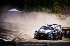 Ken Block // Redbull GRC 2014 (Harth Photography) Tags: 43 rallycross drifting grc fordfiesta snoqualmiewa kenblock dirtfishrallyschool redbullgrc
