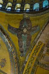 Angels from Above (aaronmalonephotography) Tags: church beautiful angel turkey religious ancient nikon istanbul christian holy christianity spiritual orthodox hagiasophia byzantine ayasophia greekorthodox constantinople easternorthodox byzantium holywisdom nikond7000