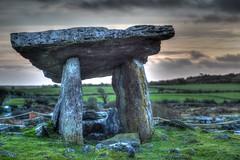 The Dolmen on The Burren - County Clare - Ireland (Andrew Wilson 70) Tags: ireland ancient worship clare theburren druid wicker stoneage dolmen countyclare domen