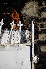 Old Bended Door (louisverplancken) Tags: door old wall canon bend simplicity damage simple eos1100d