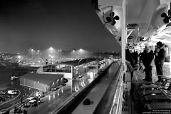 DSCF8628 (opnwong) Tags: city travel cruise sailing ship fuji ngc deck queenmary southampton departure cunard 2014 x100s