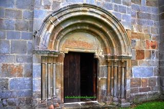 360 - Portada Norte - Monasterio Santa María de Valdediós - Villaviciosa (Asturias) - Spain.