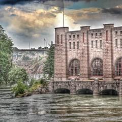 One of two power plants in Trollhättan (mrmooz123) Tags: sweden sverige powerplant hdr trollhättan waterpower trollhattan vattenkraft olidan
