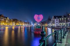 178 BOTTLES, 1 MESSAGE (a3aanw) Tags: amsterdamlightfestival
