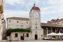 2013-07-04_Croatia_BaskaVoda_9715 copy (l0pht) Tags: sea summer vacation holiday tower town pavement croatia oldtown trogir dalmatia passersby smallstreet