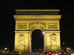 Paris by Night (CS Travels) Tags: paris eiffeltower arcdetriomphe
