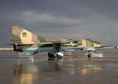 MIG-23MLD 6474  CLOFTING CRW_0199 (Chris Lofting) Tags: flogger libya tripoli mig23 6474 mitiga mig23mld lavex libyanairforce