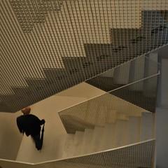 Rainman (TheManWhoPlantedTrees) Tags: man metal arquitetura architecture stairs arquitectura diagonal human braga escaleras escadas arquitecturaportuguesa gnration nikond3100 tmwpt