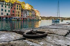 serenity bay, Portofino (photograffiando) Tags: sea color water reflections landscape nikon sigma genova 1020 portofino sigma1020 theunforgettablepictures wonderfulword d7000 nikonclubit