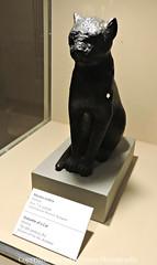 Statuette of a Cat (Amberinsea Photography) Tags: ancient hungary szeged treasures ancientegypt magyarország amberinseaphotography afáraókegyiptoma