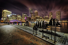 Fan Pier in Boston (Frank C. Grace (Trig Photography)) Tags: city sea sky boston skyline ma harbor cityscape walk massachusetts ships newengland line beantown fanpier harborwalk trigphotography frankcgrace visitmassachusetts fanpierpark