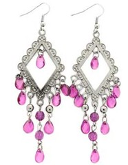 Glimpse of Malibu Purple Earrings P5410A-4