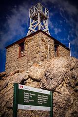Sulphur Mountain Cosmic Ray Station (Richard Adams Photography) Tags: canada alberta banff historicalsite cosmicrays sulphurmountaincosmicraystation