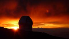 Gran Telescopio Canarias (jess_k_kent1) Tags: sunset islands la canarias telescope gran canary palma canaries telescopio